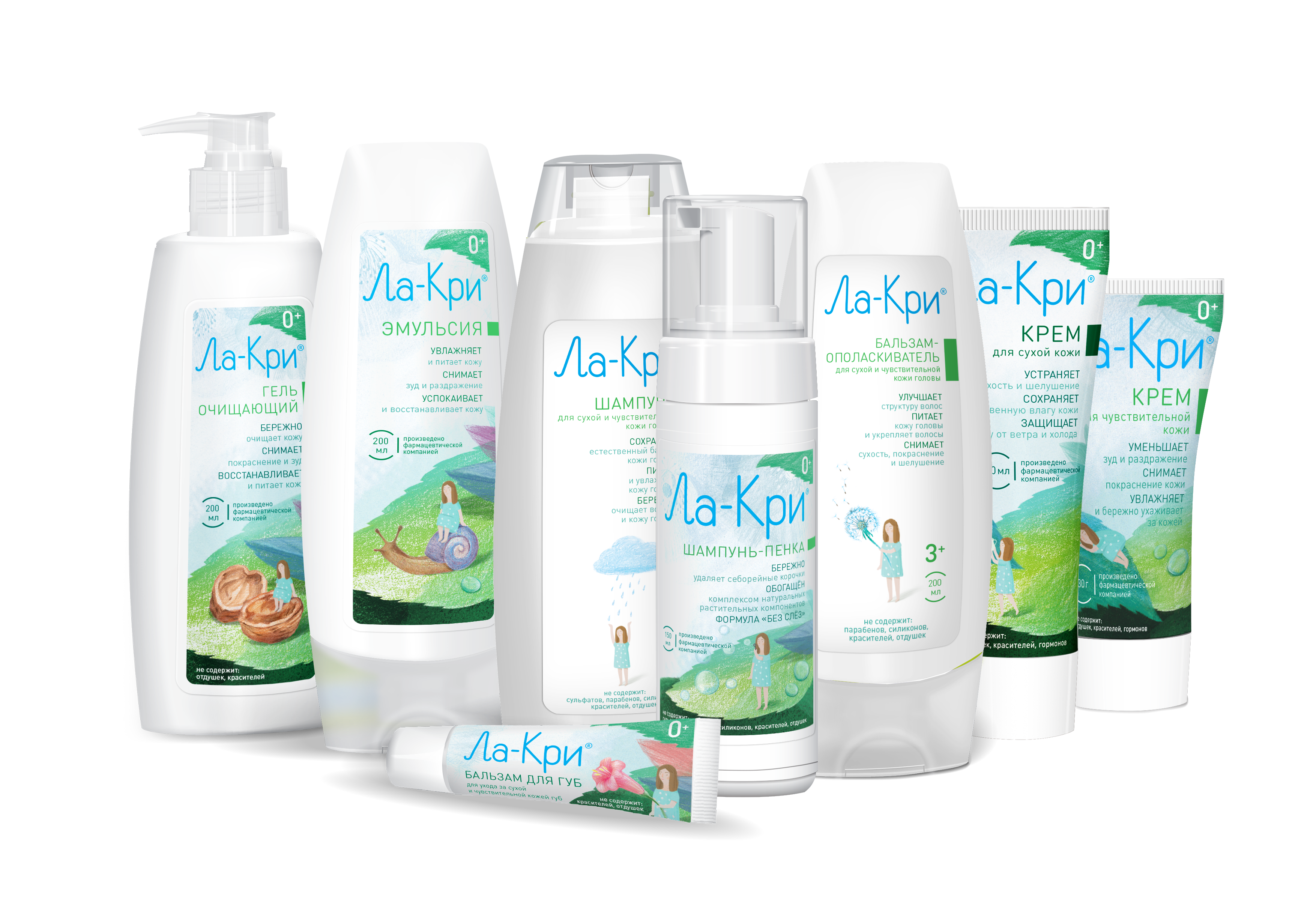 La-Kry<sup>®</sup> series skin and hair care