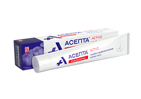 ASEPTA<sup>®</sup> Active therapeutic toothpaste